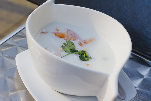 Lobster Coconut Soup