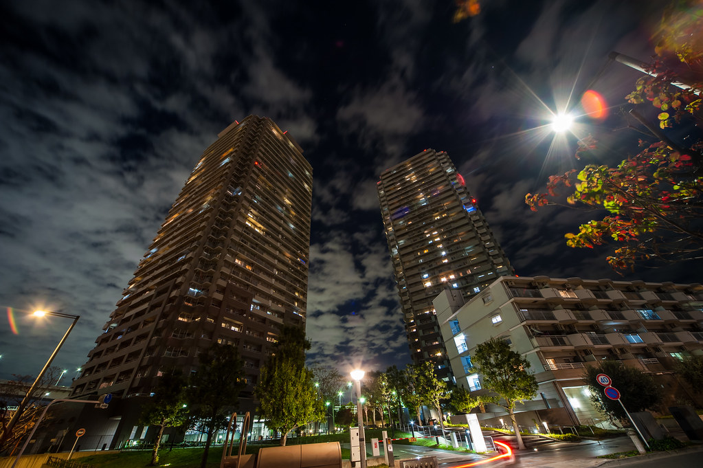 Odaiba buildings