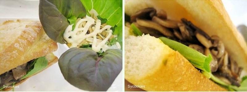 8.mushroom and arugula sandwich@T-FORTY 2
