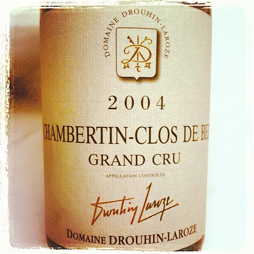 Drouhin-laroze chambertin clos de beze 2004