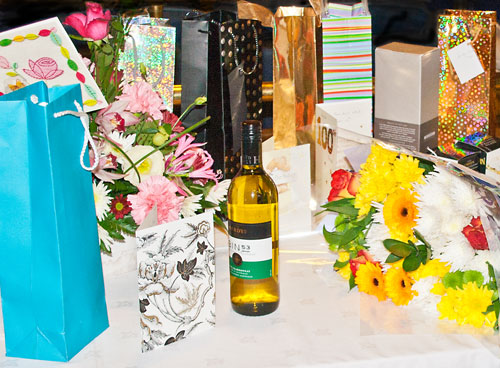 Make sure you shoot the presents. Event photography should include all the angles.