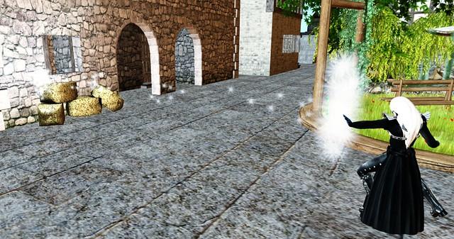 Solarium Warrior of Zen : Light and Darkness Hud V1.0 - spear of light