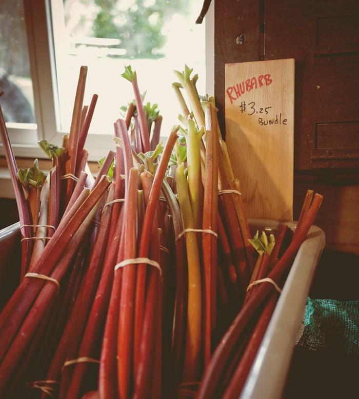 Beth's Farm Market Rhubarb