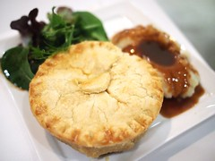 Wagyu beef cheek pie. Pies & Coffee, Rochester Mall