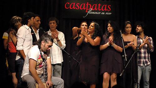 Arcangel en un fin de fiesta de uno de los Pellizcos Flamencos de Casa Patas. Foto: Martín Guerrero