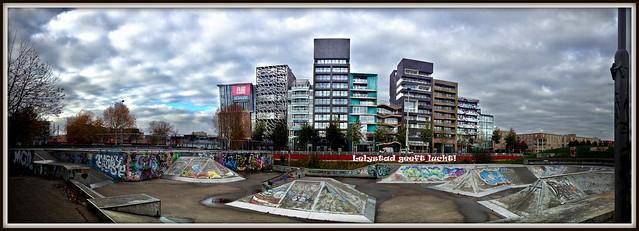 Zilverparkkade Lelystad (08-11-2012).