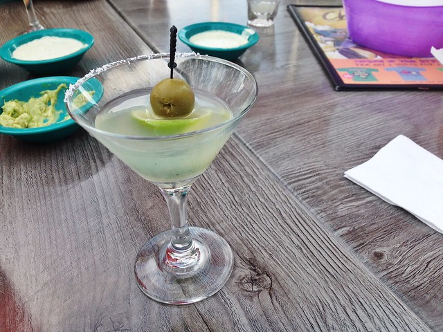 New Mexico martini