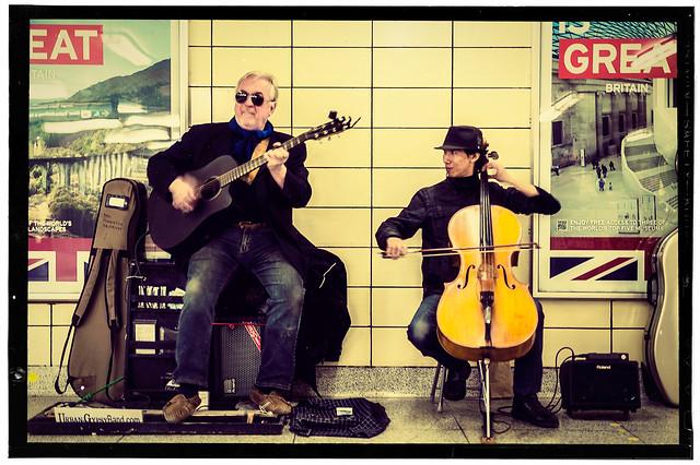 Urban Gypsy Band: Canadian subway musicians.