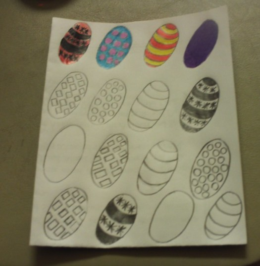 The Easter Egg Card