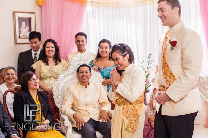 Rosanna & Doug's Traditional Cambodian Engagement Ceremony   Lawrenceville Atlanta Cambodian Wedding Photographer