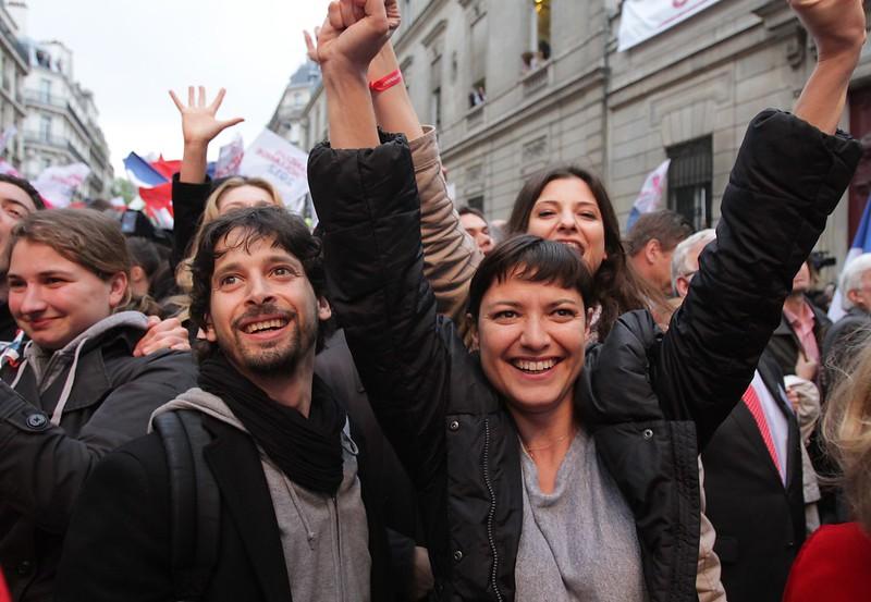 Solférino le 6 Mai 2012 - Photo Parti Socialiste - licence Creative Commons