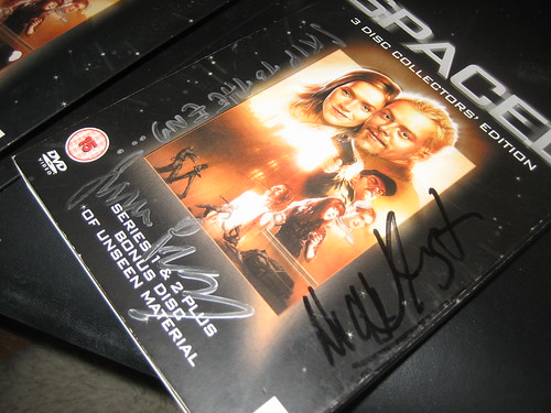 20120805 - autographed Spaced DVD - IMG_4805