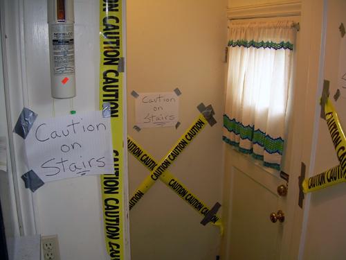 Caution caution caution