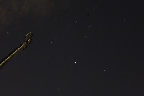 流星群見えず