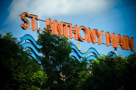 St. Anthony Main sign