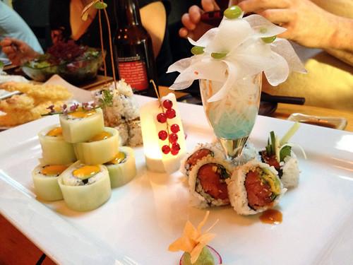 kishimoto sushi rolls