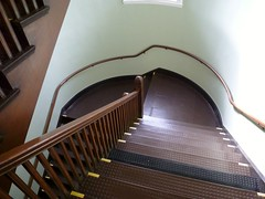 May Hall stairway
