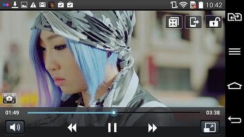 การรับชมไฟล์วิดีโอ 1080p บน LG G2 Mini Dual