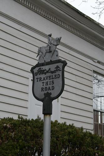 George Washington traveled through Elkton, Md