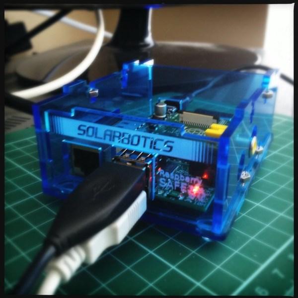 Solarbotics Raspberry SAFE