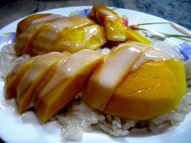 BRT mango pulut dessert