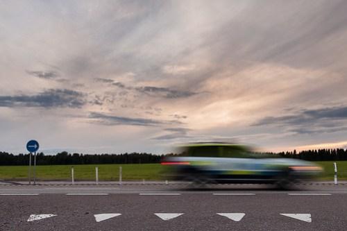 Polisyrket kräver fart! / Police bussiness demands speed!