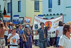 Viet Vets March in Miami Against War: 1972