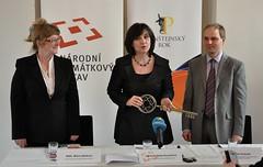 Generální ředitelka NPÚ Naděžda Goryczková slavnostně otvírá novou návštěvnickou sezónu