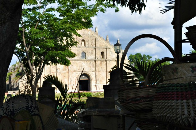 A glimpse of Paoay Church