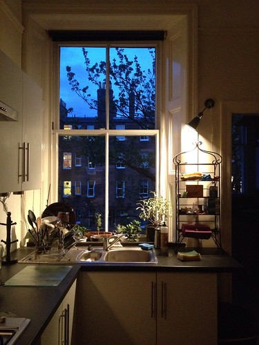 Day 166 of Project 365: The Kitchen at Night by cygnoir