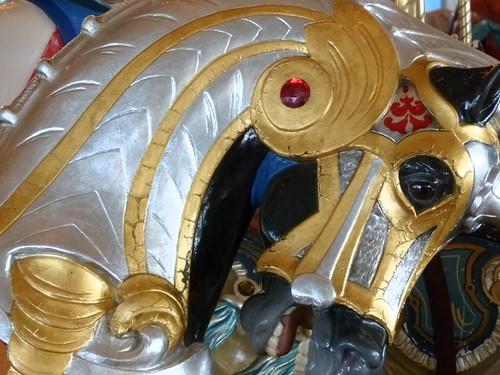Detail, Carousel Horse