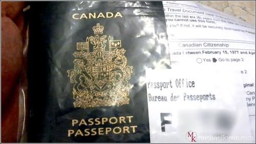 Canada Passport