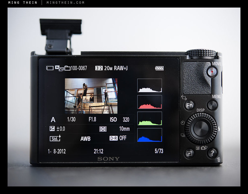 The Sony Cyber-shot DSC-RX100 – a somewhat comparative