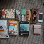 What's in my bag - August 2012