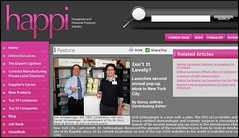 Joel Schlessinger MD receives more great feedback about the LovelySkin pop-up store event from HAPPI.COM