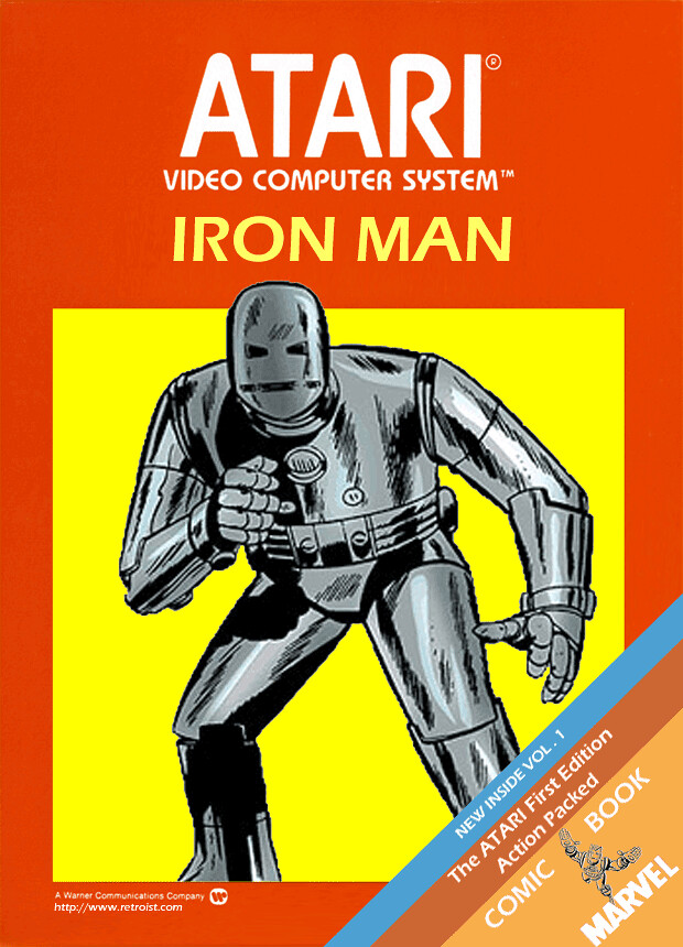 Iron Man for the Atari 2600