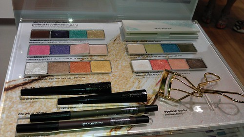 glitter makeup! Shu Uemura