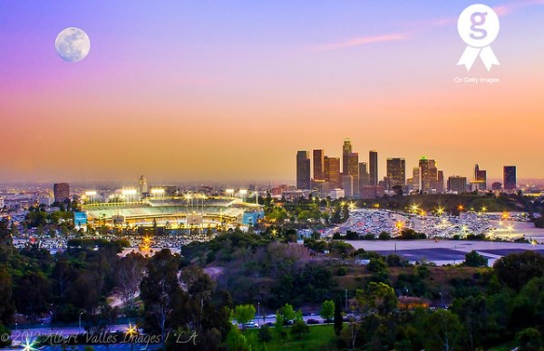 Dodger Stadium and Downtown Los Angeles - a gallery on Flickr