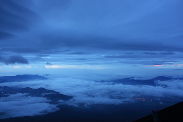Sunrise from Mount Fuji (1/6)