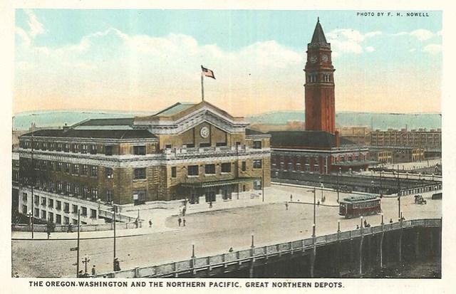 Train stations, circa 1911