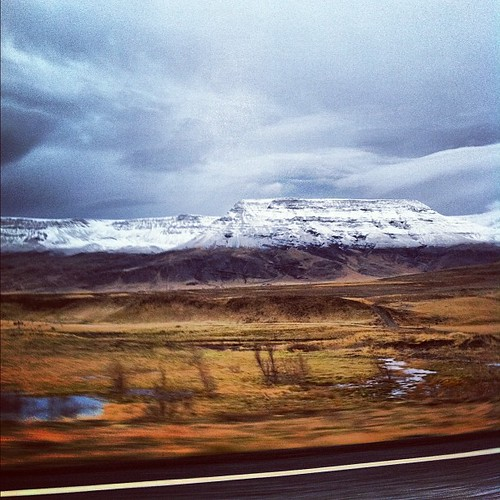 Half #white half #black #esja #reykjavik #iceland #mountain