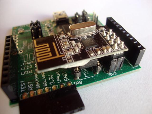 msp430 PCB