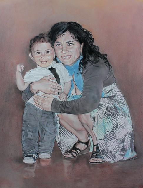 Portrait complet - Christelle & Esteban