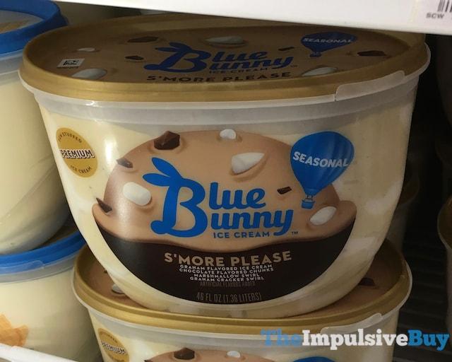 Blue Bunny Seasonal S'more Please Ice Cream