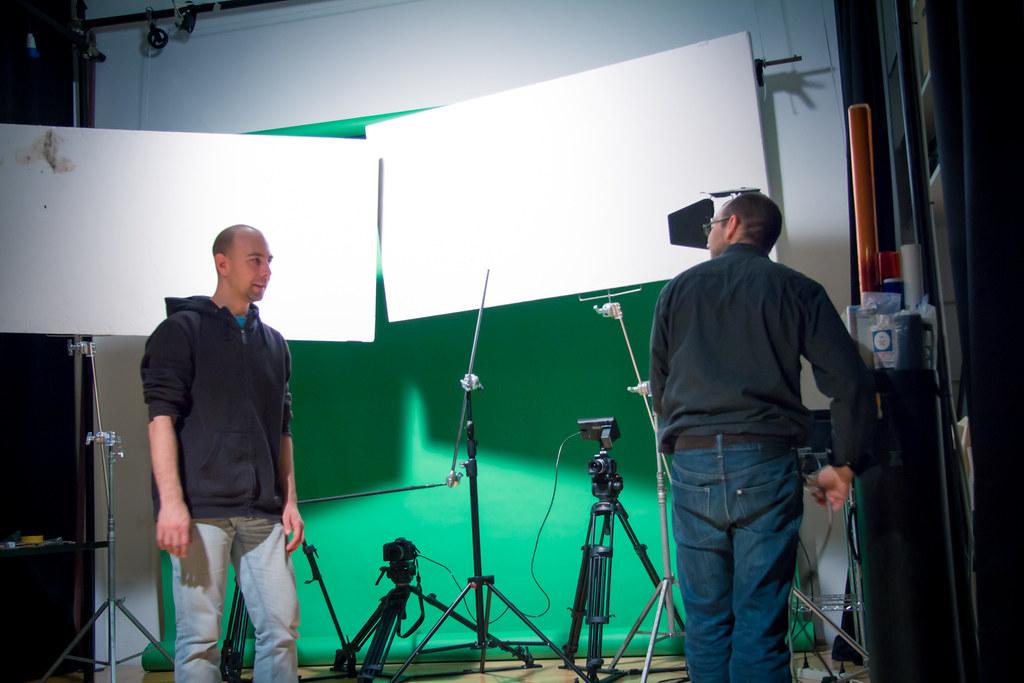 Alex Raccuglia e Giuseppe Ceravolo, rispettivamente regista e direttore delle fotografia di #gn2, corto di danza