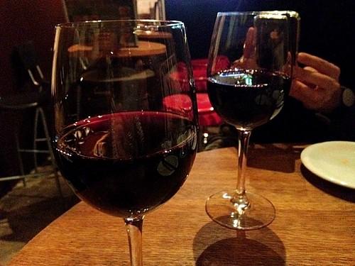 赤ワイン@桜丘 ワヰン酒場 渋谷西口店