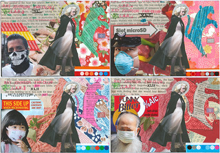 1st 4 examples from Postcard Series 1