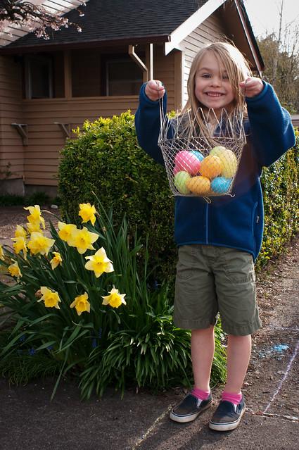 sadie easter egg basket