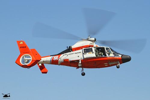 "US Coast Guard MH-65C Dolphin ""Retro 84"" by PhantomPhan1974 Photography"