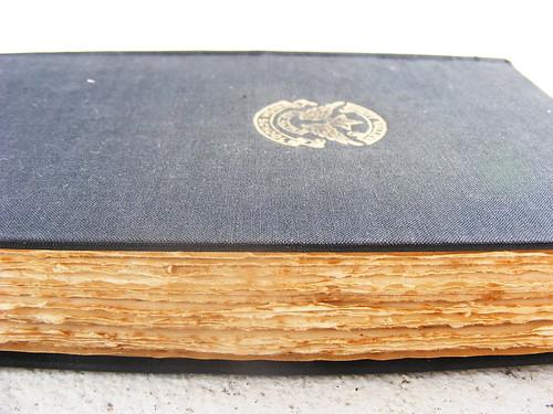 Altered book - start